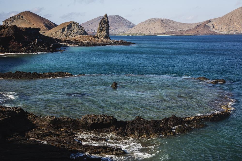 Seascape of Pinnacle Rock