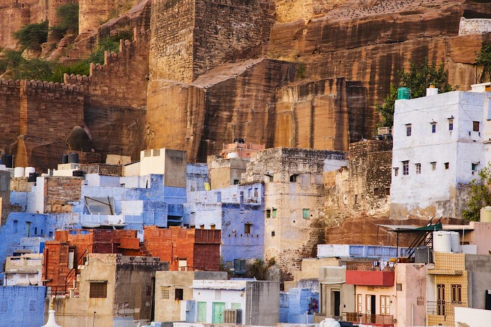 Mehrangarh Fort and city of Jodphur