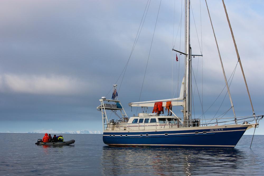 Expedition boat Arctca II