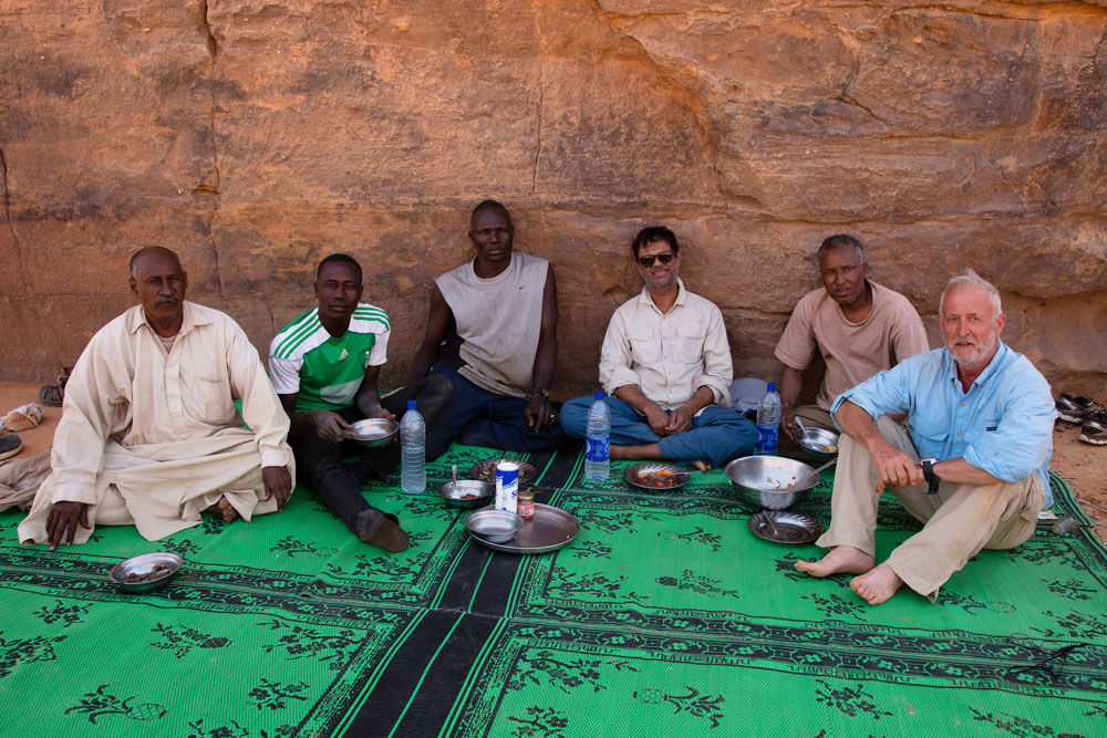 Chad (Tchad), North Africa, Sahara, Ennedi, our Chad expedition team