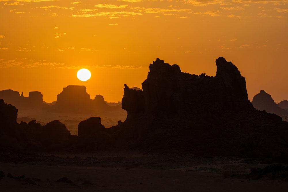 Bizarre rock formations in Ennedi