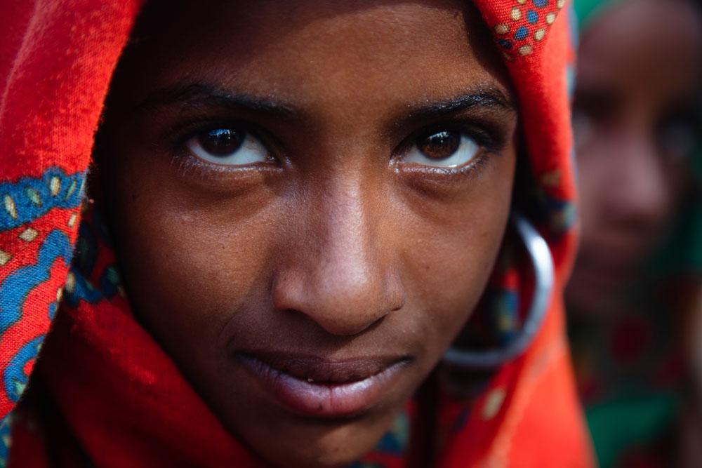 Portrait of Chadian girl